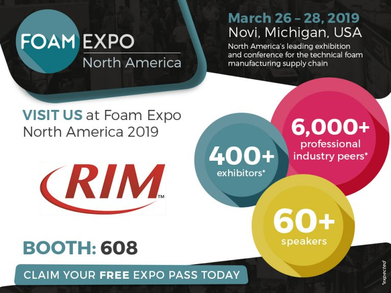 Foam Expo North America 2019