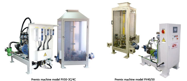 Premix machine model