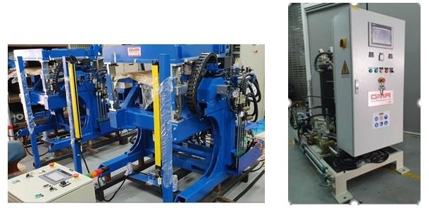 Wet and Dry Plant Machine